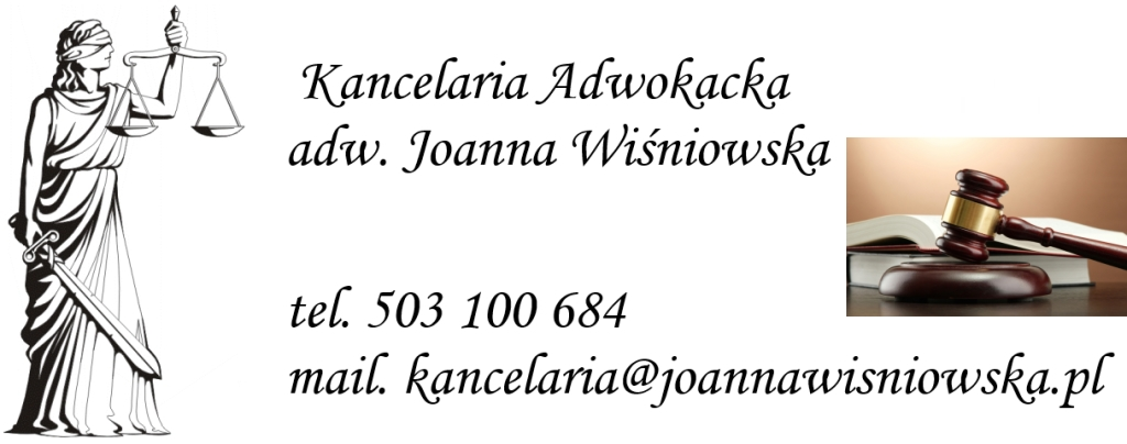 adwokat joanna wiœniowska